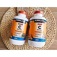 Viên Nhai Kirkland Signature Vitamin C 500mg Của Mỹ 500 viên Tăng Cường Hệ Miện Dịch, Sức Đề Kháng, Sáng Da, Chống Lão Hóa, Phòng Cảm Cúm thumbnail
