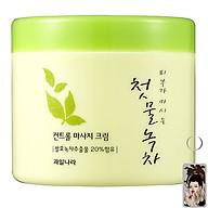Kem tẩy trang trà xanh sạch sâu Welcos Green Tea Fresh Cleansing Hàn Quốc 300g tặng kèm móc khóa thumbnail