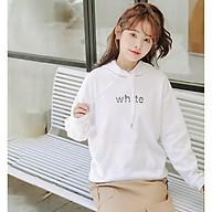 Sản phẩm Áo Hoodie Nữ có cổ đủ màu dáng form Chấu Á phong cách Hàn Quốc mã A26 thumbnail