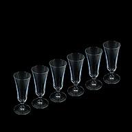 Bộ 6 ly thủy tinh uống rượu vang, cocktail thumbnail