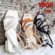 Giày Quai Hậu Cao Gót Nữ Kẹp Ngón Quai Chéo - MS 90QH thumbnail