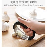 Dụng cụ nghiền tỏi- xay tỏi ớt cầm tay inox tiện lợI ET02 thumbnail
