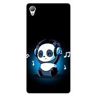 Ốp lưng dẻo cho điện thoại Sony Z3 _Panda 05 thumbnail