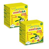 COMBO 2 hộp Viên Canxi K2 Moringa - Bổ sung Canxi và Vitamin K2, tăng chiều cao, chống còi xương ở trẻ em - Hộp 8 gói thumbnail