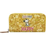 Ví dáng dài Cath Kidston họa tiết Snoopy Happy Paper Ditsy (Snoopy Happy Paper Ditsy Continental Placement Zip Wallet ) thumbnail