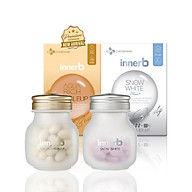 Bộ đôi thực phẩm bảo vệ sức khỏe InnerB Aqua Rich Doubleup (56 viên) & InnerB Snow White (28 G 20EA CT) thumbnail