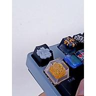 Keycap artisan hoa đào, hoa hồng trắng trang trí bàn phím cơ gaming. thumbnail
