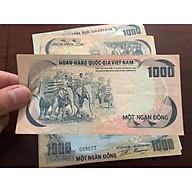 Tờ 1000 đồng con voi miền Nam Việt Nam 1972, tiền cổ trong bộ thú sưu tầm thumbnail