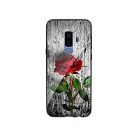 Ốp Lưng Kính Cường Lực cho điện thoại Samsung Galaxy S9 Plus - Rose 09 thumbnail