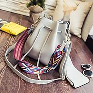 Túi xách đeo chéo đi chơi hợp thời trang, túi xách đeo chéo da PU chất lượng, có nhiều ngăn để đựng điện thoại và các vật dụng cần thiết thumbnail