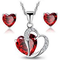 Bộ trang sức 2 món trái tim BHB66 thumbnail