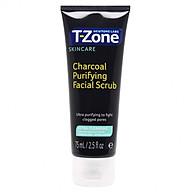 Tẩy Tế Bào Chết Than Hoạt Tính T-Zone Charcoal Purifying Facial Scrub 75ml thumbnail