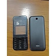 Vỏ điện thoại dành cho Nokia 225 màu đen ( không co sườn ) thumbnail