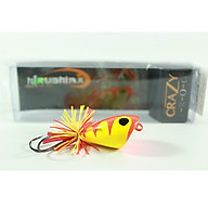 Mồi câu cá, mồi câu nhái lắc Hirushima Crazy Frog 8g thumbnail