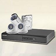 Trọn bộ 3 camera chính hãng Hikvision HD720P thumbnail