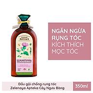 Dầu gội ngăn ngừa rụng tóc Zelenay Apteka Cây ngưu bàng và Protein lúa mì 350ml thumbnail
