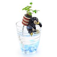 Chậu trồng cây tự tưới Ecoey hình Animal 1 kèm hạt giống và đất thumbnail