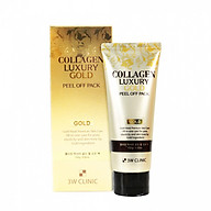 Mặt Nạ Vàng 3W Clinic Collagen Luxury Gold Peel Off Pack 100g thumbnail