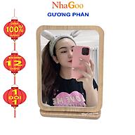 Gương Soi Để Bàn Trang Điểm Gỗ thumbnail