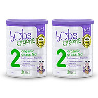 Combo 2 hộp sữa bò hữu cơ Bubs nhập khẩu nguyên hộp từ Úc thumbnail