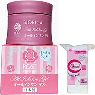 Combo 1 kem dưỡng da hỗ trợ điều trị khô nẻ Biorica Rose Nhật bản ( 40g) + 1 gói bông tẩy trang ( 50 miếng gói) thumbnail