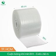 B11 - 0,45x50 (m) - Cuộn Bong Bóng Khí - Màng xốp hơi - Xốp nổ - gói hàng bọc hàng thumbnail