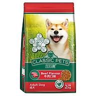 Thức ăn khô cho chó trưởng thành Classic Pets vị thịt bò thumbnail