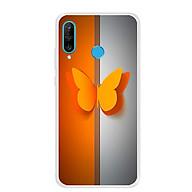 Ốp lưng dẻo cho điện thoại Huawei P30 Lite - 0095 BUTTERFLY - Hàng Chính Hãng thumbnail