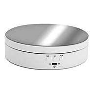 Bàn Xoay Điện 360 Độ Cắm USB Giá Trưng Bày, Để Chụp Ảnh Đạo Cụ Video Tải Trọng Tối Đa 3Kg thumbnail