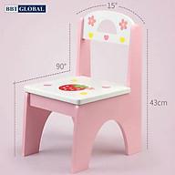 Ghế ngồi cho bé BBT Global bằng gỗ JYNC017 thumbnail