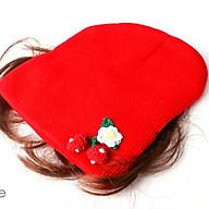 Nón len kèm tóc giả xinh xắn cho bé gái (Giao màu ngẫu nhiên) thumbnail