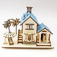 Đồ chơi lắp ráp gỗ 3D Mô hình Ocean Villas thumbnail