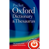 Pocket Oxford Dictionary and Thesaurus thumbnail