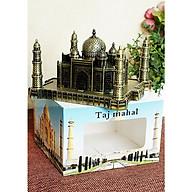 Mô hình lăng mộ Taj Mahah cao 7 cm (màu vàng rêu) thumbnail