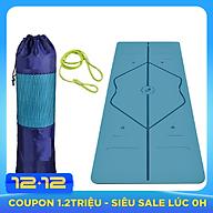Thảm Yoga Định Tuyến TPE 2 Lớp Cao Cấp Amalife + Bao Thảm + Dây Buộc (Màu Ngẫu Nhiên) thumbnail