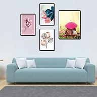 Tranh treo tường, tranh canvas TB08 bộ 4 tấm thumbnail