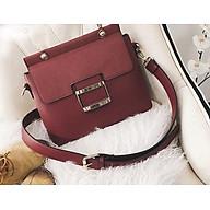Túi xách nữ phối màu vintage phong cách Hàn Quốc thumbnail
