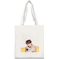 Túi tote vải in hình SUGA BTS thumbnail