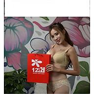 Áo Ngực Nữ Nội Y cao Cấp 12h E193 Mút Vừa Có Gọng Ren thumbnail