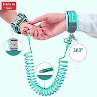 Dây đeo tay dắt trẻ đi dạo chống lạc an toàn bé dài 3 mét có khóa an toàn thumbnail