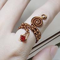 Nhẫn cho nữ phale hình rắn cá tính 05785-05789 thumbnail