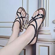 Giày sandal nữ sỏ ngón dây mảnh cắt điệu thời trang đi chơi đi biển thumbnail