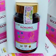 Thực phẩm bảo vệ sức khoẻ KOKORO mama dành cho mẹ bầu và cho con bú (30 viên nang mềm 01 Hộp ) thumbnail