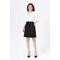 Chân váy khóa đồng lệch LAMER L62R19Q016-S1400 thumbnail