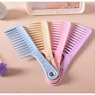 Combo 2 Lược chải tóc răng thưa chăm sóc da đầu (màu ngẫu nhiên) thumbnail