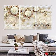 Bộ tranh treo tường phong thủy trang trí nội thất thị trường ĐL 55 thumbnail