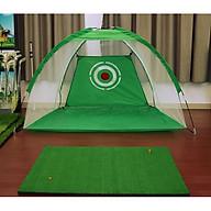 Bộ thảm tập golf + Lều (lồng) tập golf 3m thumbnail