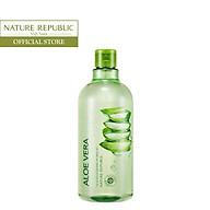 Nước tẩy trang Lô hội NATURE REPUBLIC Soothing & Moisture Aloe Vera 92% Cleansing Water 500ml thumbnail
