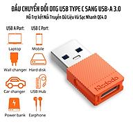 Đầu Chuyển Đổi OTG USB Type C To USB-A3.0 Mcdodo OT-6550 - Hàng Chính Hãng thumbnail