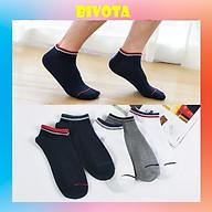 Tất vớ mang giày nam nữ cổ ngắn dáng lười Hàn Quốc viền cổ T56 thumbnail